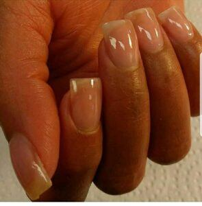 French Manicure Nail photo for carousel